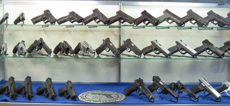 handgun display rack 3