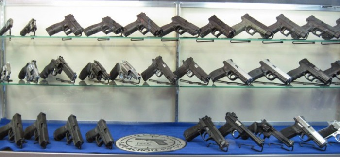 Gun Display Case Stands for Handguns Display Case